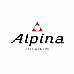 Logo de la marque de montres suisse Alpina