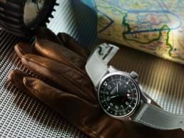 montre Alpina - Startimer Pilot Quartz GMT - cover low