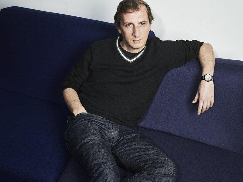 Designer Philippe Nigro et sa montre Rado