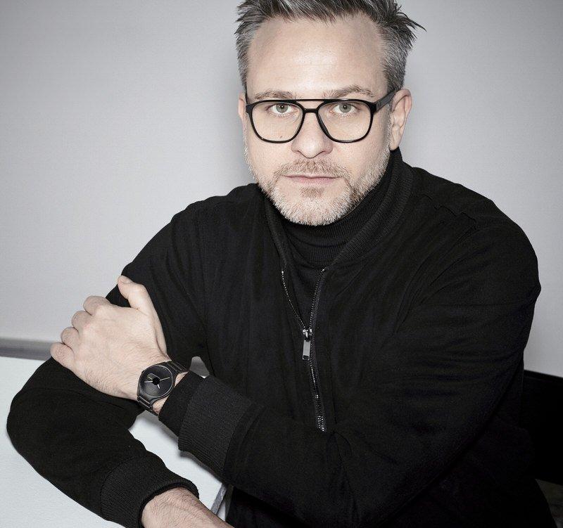 Designer_Rainer_Mutsch avec sa montre Rado True Stratum