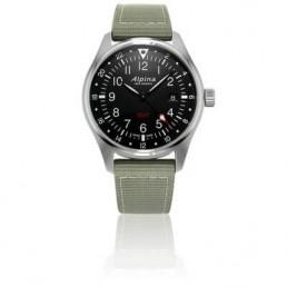 montre alpine startimer-pilot-quartz-gmt-al-247b4s6