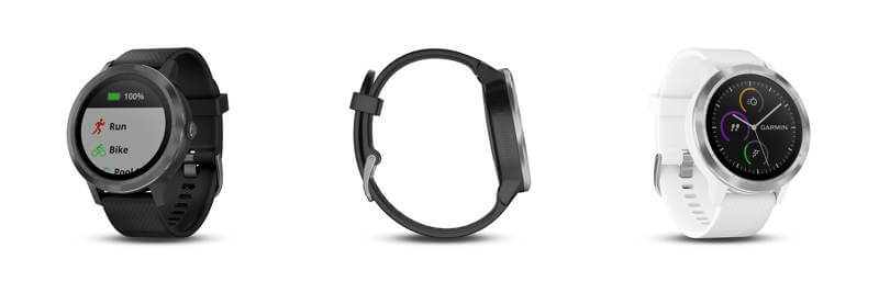 declinaisons montre Garmin Vivoactive 3